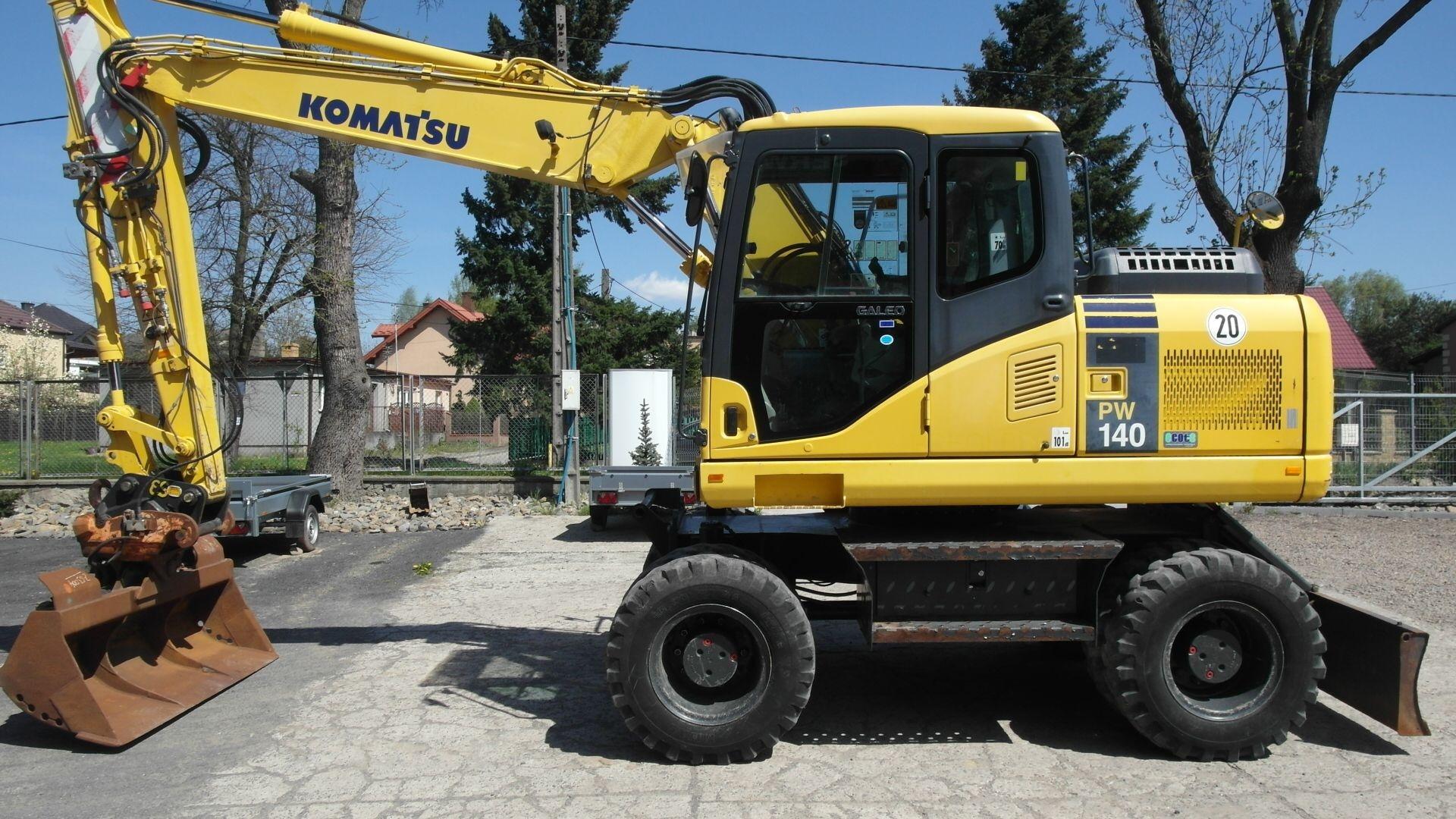 Komatsu PW 140 2007