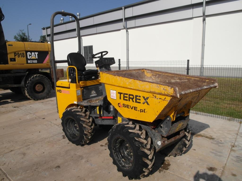 Wozidło Terex HD1000 1 tona wysoki wysyp