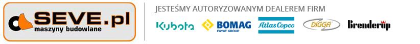Nowe minikoparki KUBOTA, sprzedaż koparek KOMATSU, Caterpillar. Koparki używane i nowe. Maszyny budowlane - Kraków  - SEVE - Sprzedaż maszyn budowlanych